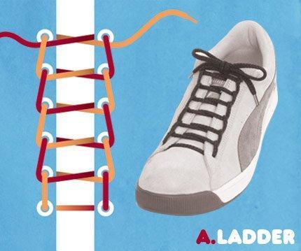 二十四种系鞋带大全(12星座男系鞋带的24方法图解)