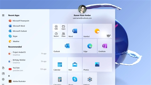 Windows 20 概念设计的照片 - 6