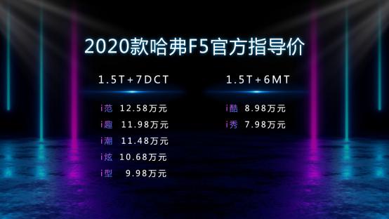 F1体育-首搭车载微信的哈弗F5上市 7.98万元起售
