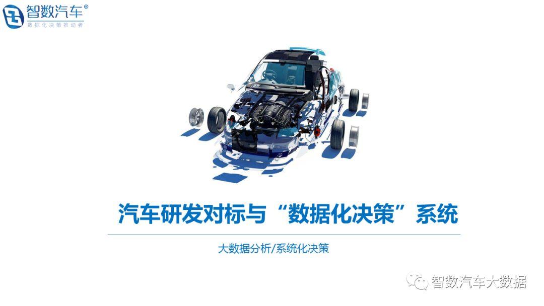 """汽车研发对标与""""数据化决策""""系统"""