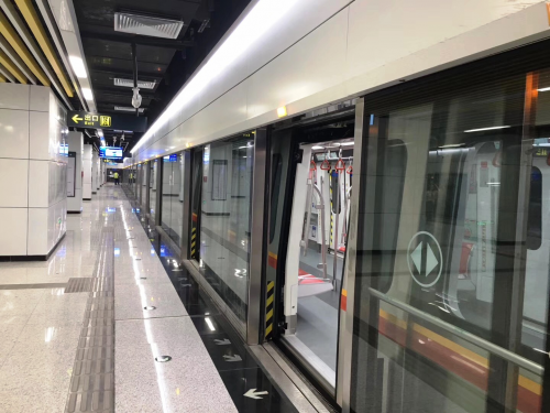 驶向繁华!蒂森克虏伯电梯为青岛地铁2号线提供145台设备
