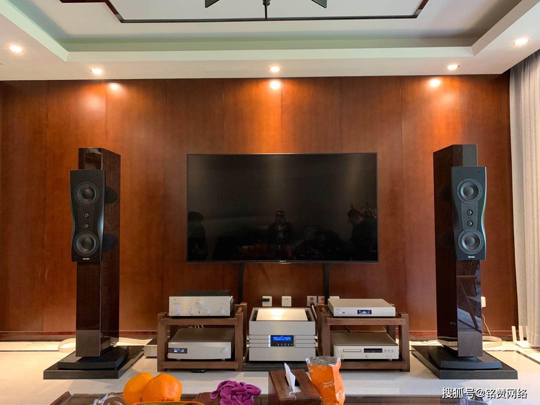 西安寶麗昌音響分享曲江一客戶安裝箱丹拿鉑金版C2全過程及配置