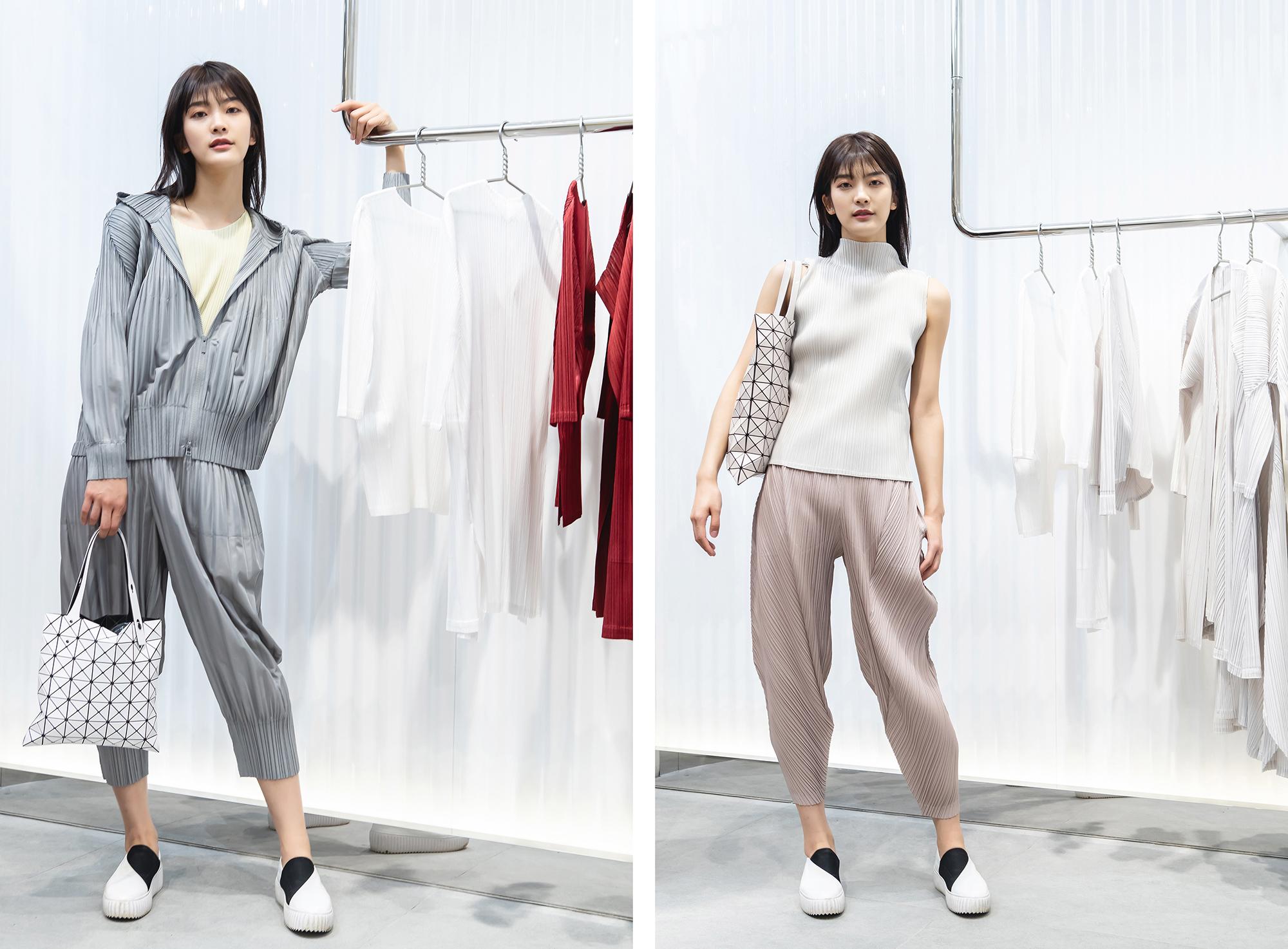 PLEATS PLEASE ISSEY MIYAKE西单大悦城精品店新装开业
