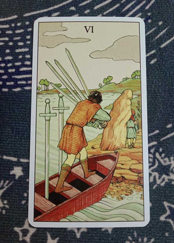 塔罗宝剑6正位感情结果 逆位代表什么意思?