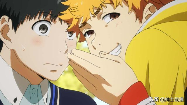 英对金木的感情已经超越友情,从他被啃咬的脸就可以看出来!