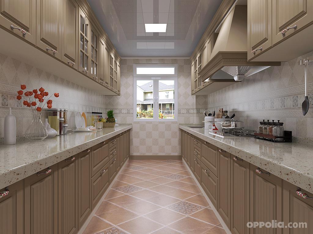 双一字型厨房