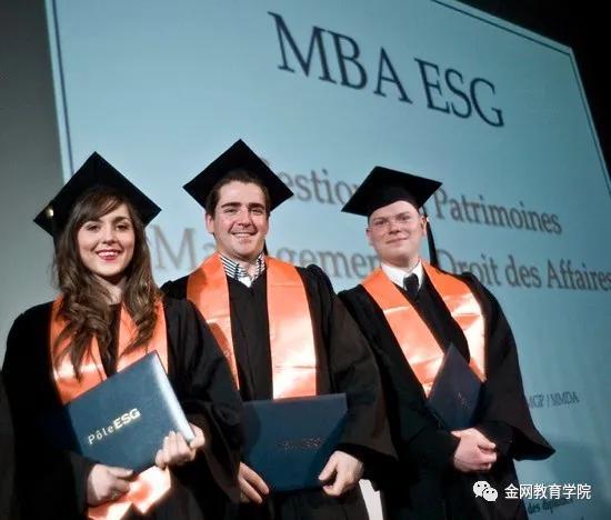 金网商学法国巴黎ESG高等管理硕士研究生院MBA项目优势介绍