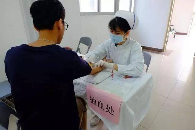 2017年大朗镇公务员健康体检在大朗医院进行