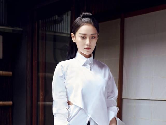 nouvelles photos de l'actrice chinoise zhang xinyu