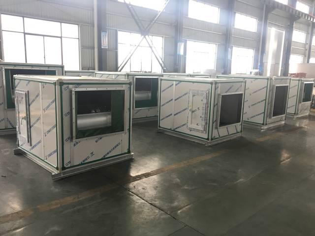 扬子江空调风机箱生产图片