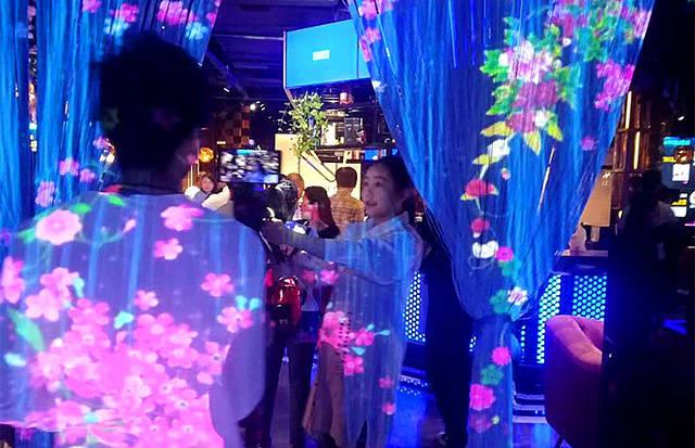武汉nPLUS全息投影音乐餐厅,带你体验360度无死角的美好-博视界科技