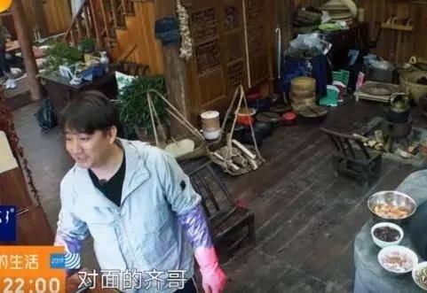 张柏芝和任贤齐去蘑菇屋,黄磊和何炅只对任贤齐寒暄