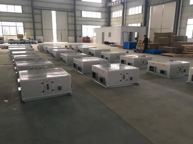 扬子江空调新风换气机生产现场