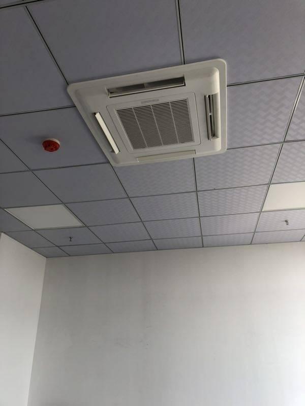 扬子江空调卡式风机盘管客户见证