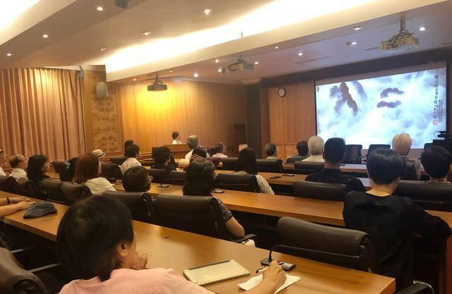 来支钢台湾首展「积墨山水的传承与创新」座谈会举行