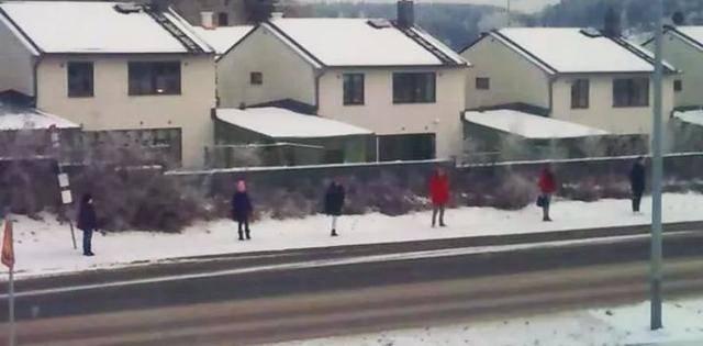 #上海 排队领口罩排出北欧的感觉,引得网友一片叫好。#武汉肺炎 #新型冠状病毒