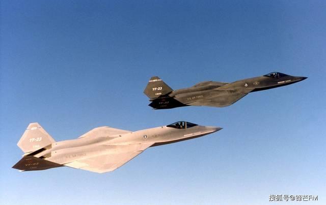 "YF23比F22更为出色?不过是一架被""神话""的战机,美空军的选择不是没道理!"