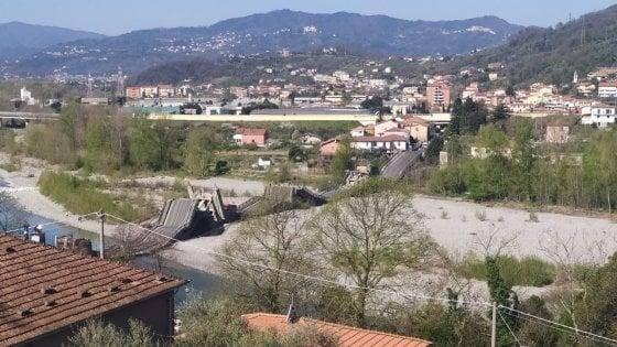 突发!意大利托斯卡纳一座桥梁垮塌 两辆货车坠