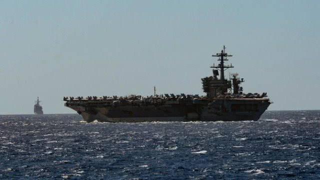 大谜题!美军第四艘航母出现感染者,太平洋舰