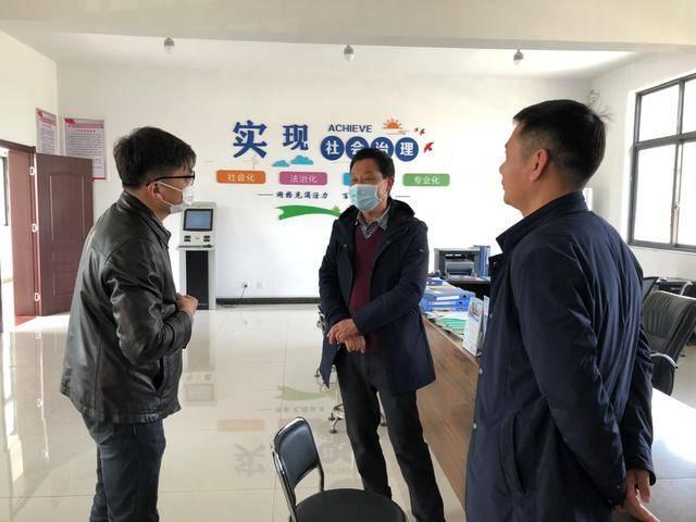 淮安区委政法委组织开展一季度综治与平安建设
