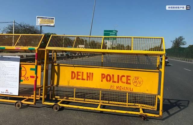 印度首都一名交警确诊感染新冠肺炎