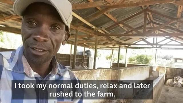 疫情下基普乔格现状:一周训练6天 闲暇时干农活