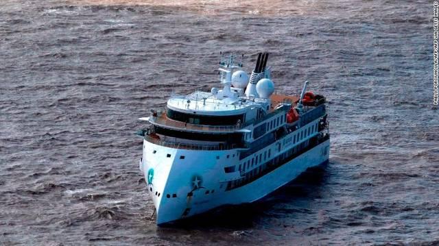 """澳极地探险邮轮""""格雷格·莫蒂默""""号近60%人感染"""