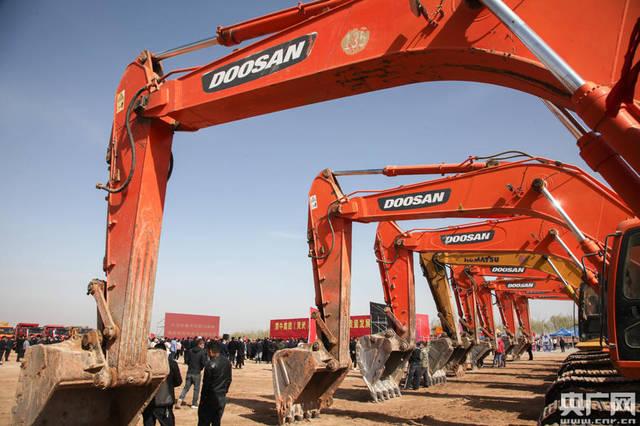 宁夏灵武年产值200亿元的乳制品基地今天开工建