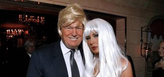 """61岁特朗普戴假发,和梅拉尼娅一起玩""""非主流"""",夫妻双双太耀眼"""