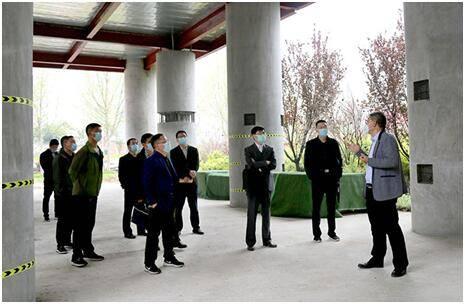 郑州市城乡建设局领导一行到河南交院工程技术