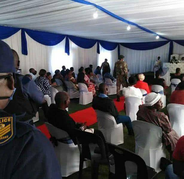 因违反防疫措施,南非新婚夫妇在婚礼现场被捕