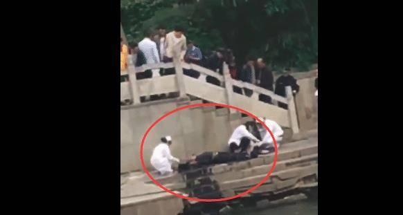 突发!广西一男子坠入河中,抢救无效身亡