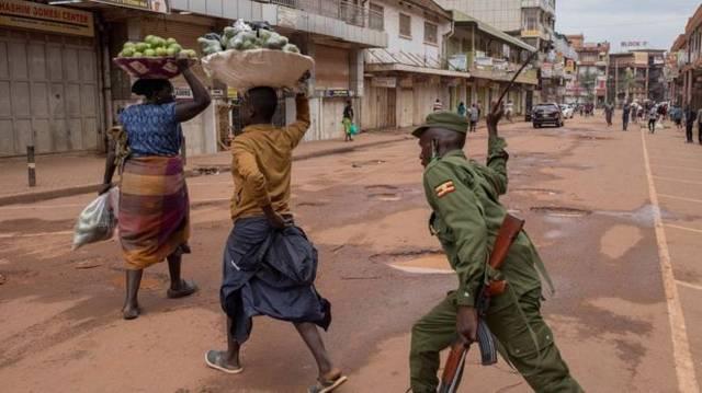 非洲冠状病毒:应急法v个人权利