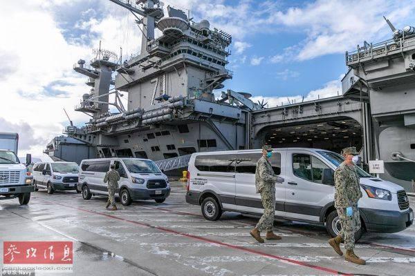 多艘航母疫情蔓延暴露美军系统危机 海军快速反
