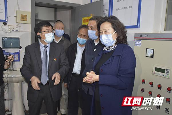 刘莲玉率队赴长沙视察医废危废安全处置工作