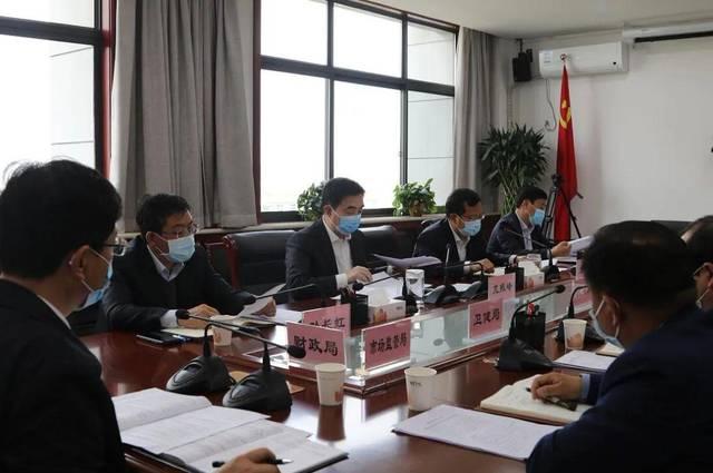 韩城市委副书记、代市长亢振峰主持召开教育扶