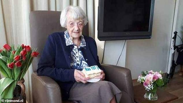 荷兰107岁老妪感染新冠病毒后康复,可能是全球