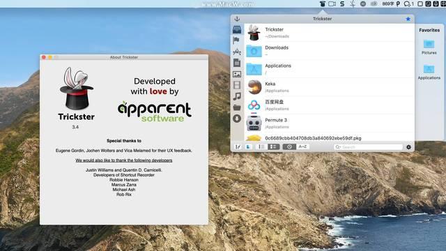 Trickster for mac(快速查找文件工具)
