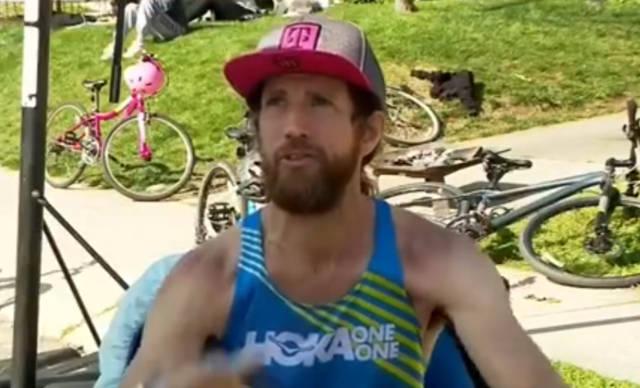 硬核跑者!美国男子不睡觉63小时跑步422公里