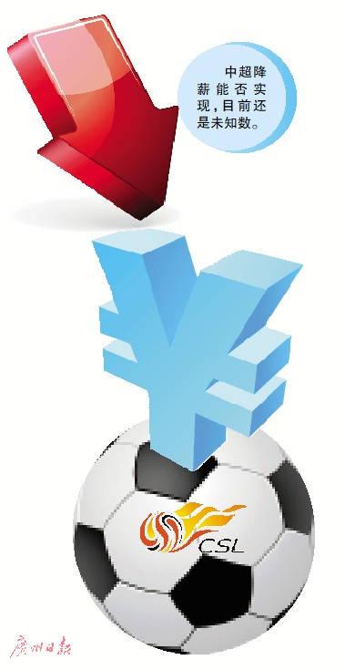 中超开赛取决四方面 各俱乐部内对降薪意见分歧