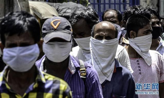 印度确诊病例达5865例 疫情暴发点逐步扩散