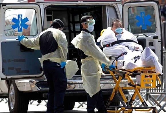 研究称美国部分州已过疫情最高峰 其他州几周后