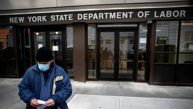 纽约因失业人数过多 救济申请系统不堪重负而崩