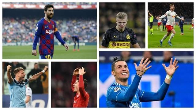 落后第一名8球,梅西第7座欧洲金靴希望渺茫!但