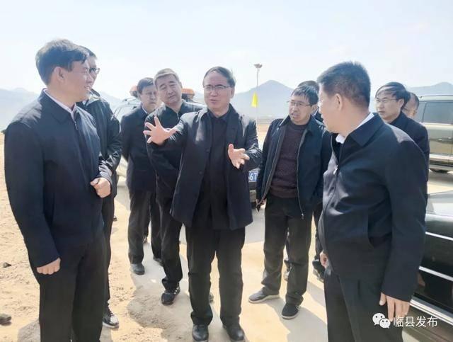 张云龙一行在临县调研黄河流域生态环境保护工