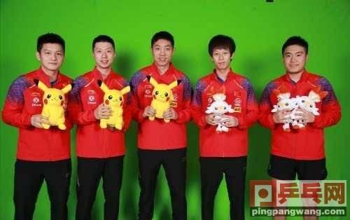 中国乒乓球队澳门集训,男乒胡子头发变长,身