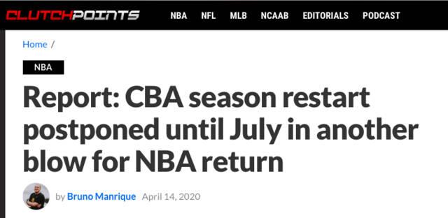 美媒:CBA的最新消息 给了NBA最沉重一击 姚明太狠