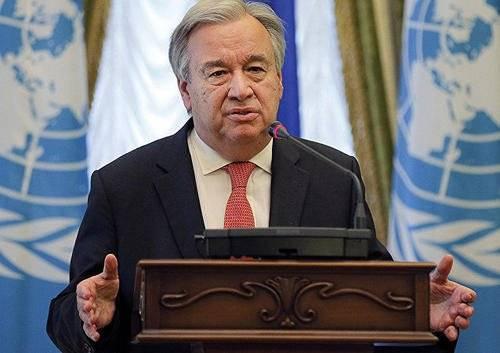 联合国秘书长:世卫必须得到支持,现在不是减