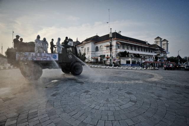 世界第四人口大国印尼宣布新冠疫情为非自然灾