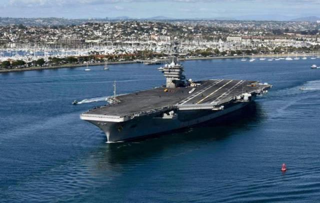 """美国""""罗斯福""""号航母655名船员确诊 60%为无症状感染者"""